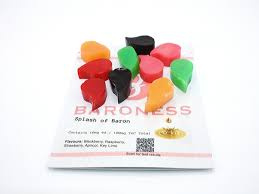 10 pieces Splash of Baron Gummies 10 mg THC each